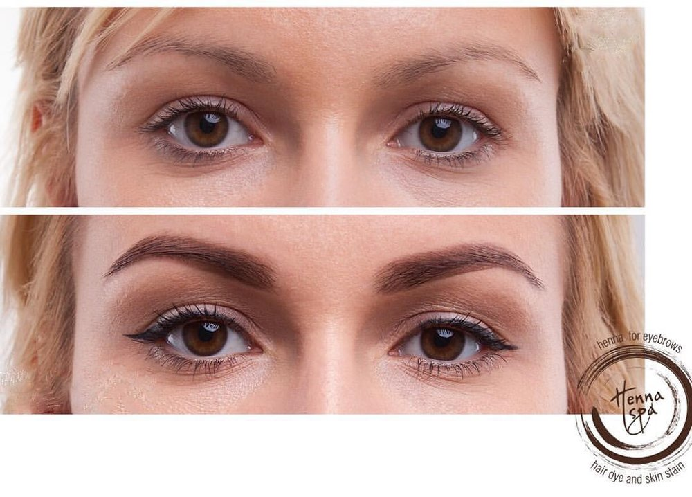28 henna eyebrow express brow threading